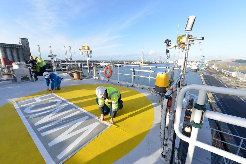 L'éolien en mer a produit  2.867 GW/h d'électricité en Belgique en 2017