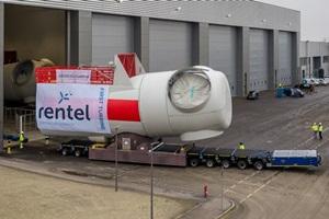 La première nacelle pour le Rentel de 309 MW est sortie de la chaîne de montage