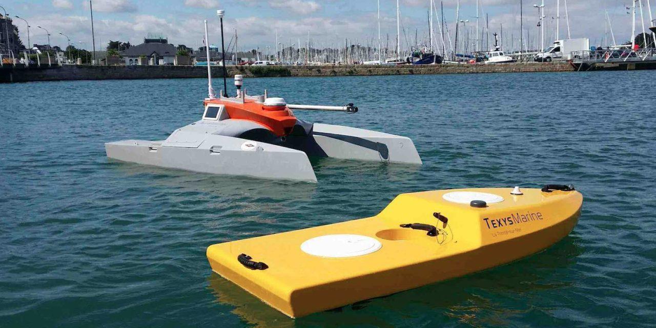 Repérés à la JSN18 : les drones de Texys Marine