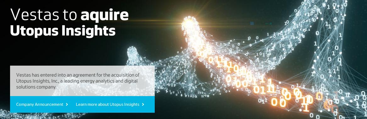 Gestion des données : Vestas achète Utopus Insights