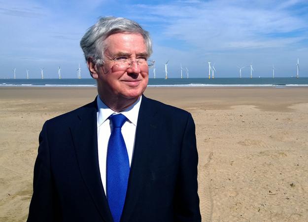 Commande d'un rapport sur les retombées économiques de l'éolien offshore au UK