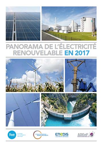 Panorama de l'électricité renouvelable en 2017
