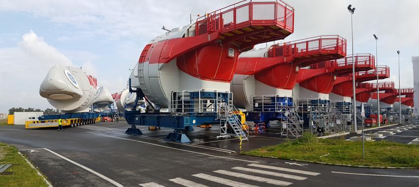 Seafox 5 installe la première Haliade à Merkur