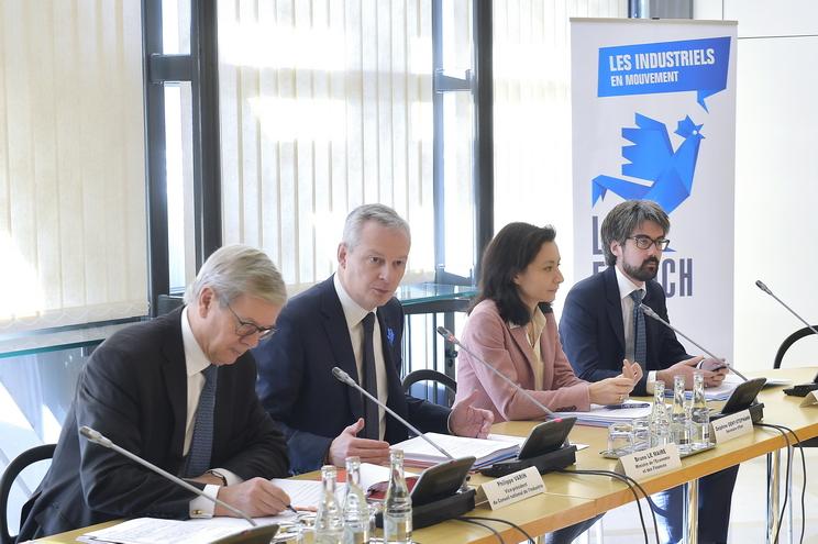 GICAN, SER, EVOLEN et FIN unis aux côtés du Conseil National de l'Industrie