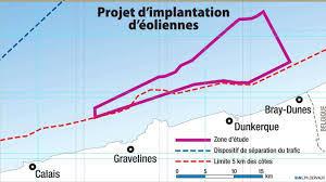 Vattenfall, la Caisse des Dépôts et WPD s'allient pour répondre à l'appel d'offre de la zone Dunkerque