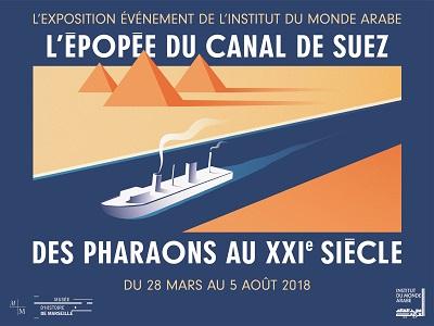 Exposition sur le Canal de Suez