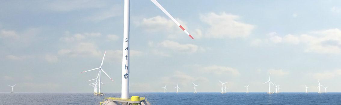 Eolien flottant – IFREMER accueillera SAITEC, un des lauréats du MaRINET2