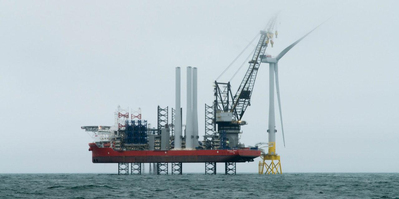 Vattenfall la mise à l'eau de la première éolienne 8,8 MW commerciale