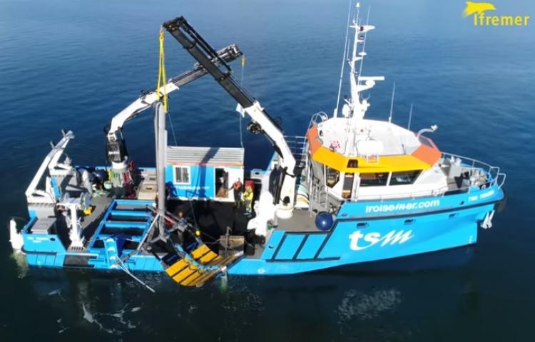 L'hydrolienne d'EEL Energy a repris ses essais en rade de Brest