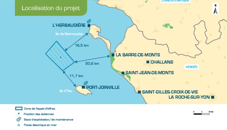 G-tec missionné pour la seconde campagnescientifique d'étude géotechnique pour Yeu-Noirmoutier