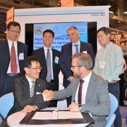 DNV GL CHMI signing 250x250