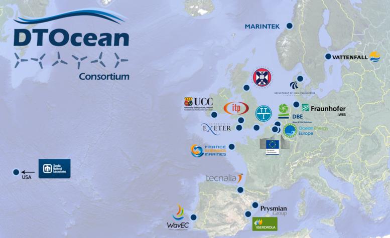 Un programme européen pour «booster» l'hydrolien et le houlomoteur