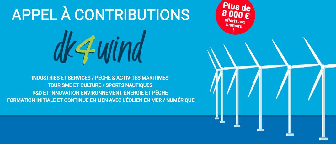 Eolien en mer : « dk4wind », un appel à contributions pour le projet Dunkerquois