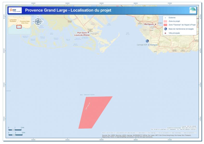 Provence Grand Large : Avis de l'Autorité environnementale plutôt favorable