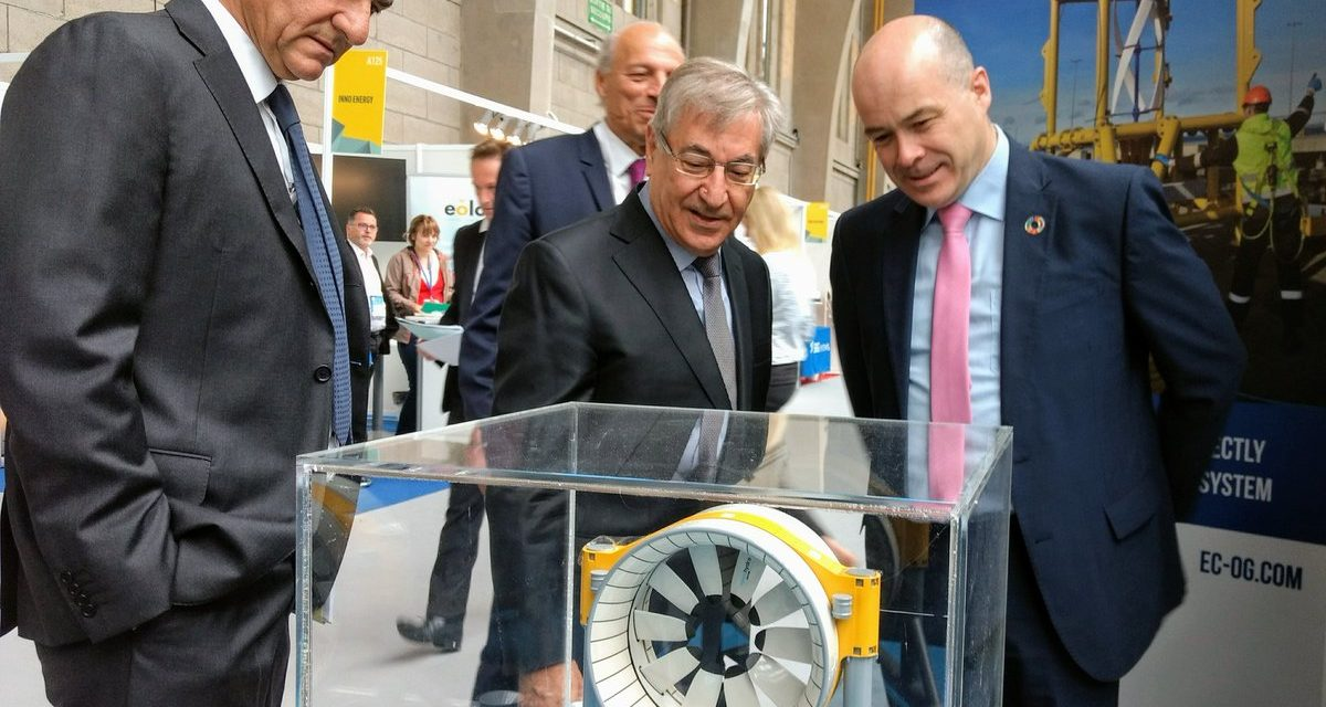 Tidal energy : Karmenu Vella expressed the importance of this emerging industry for Europe