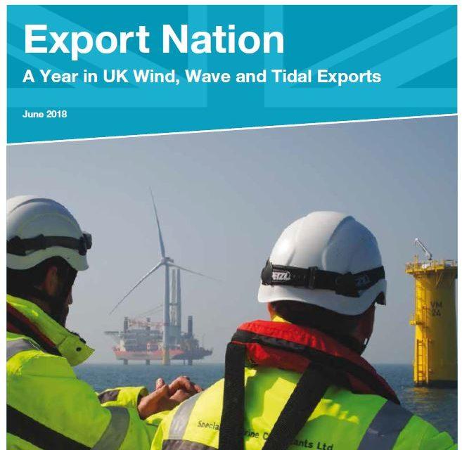 L'industrie renouvelable britannique exporte