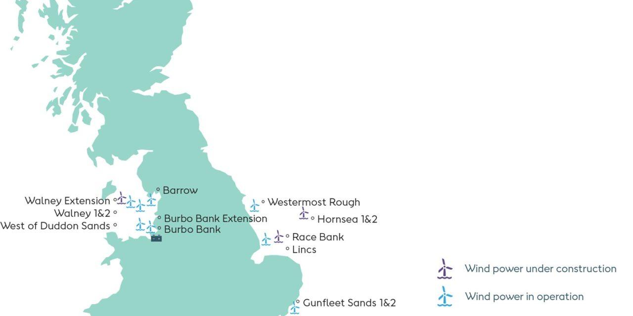Ørsted confirme les 165 turbines de Siemens Gamesa pour Hornsea Two