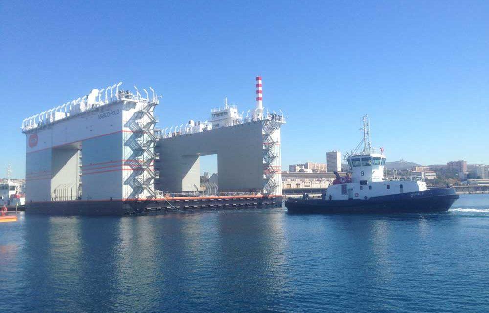 La Touline : compétence « Mer » pour le chantier de Monaco mené par Bouygues Construction