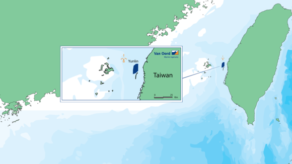 Van Oord wins contract in Taiwan