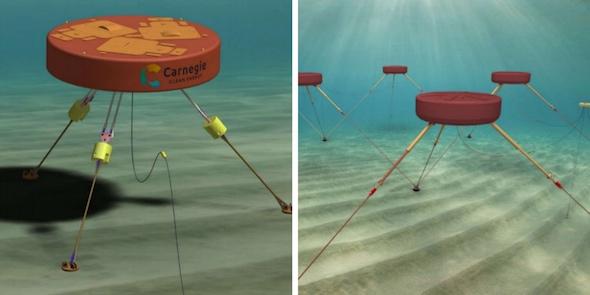 Carnegie Clean Energy et EGP s'allient pour développer CETO 6