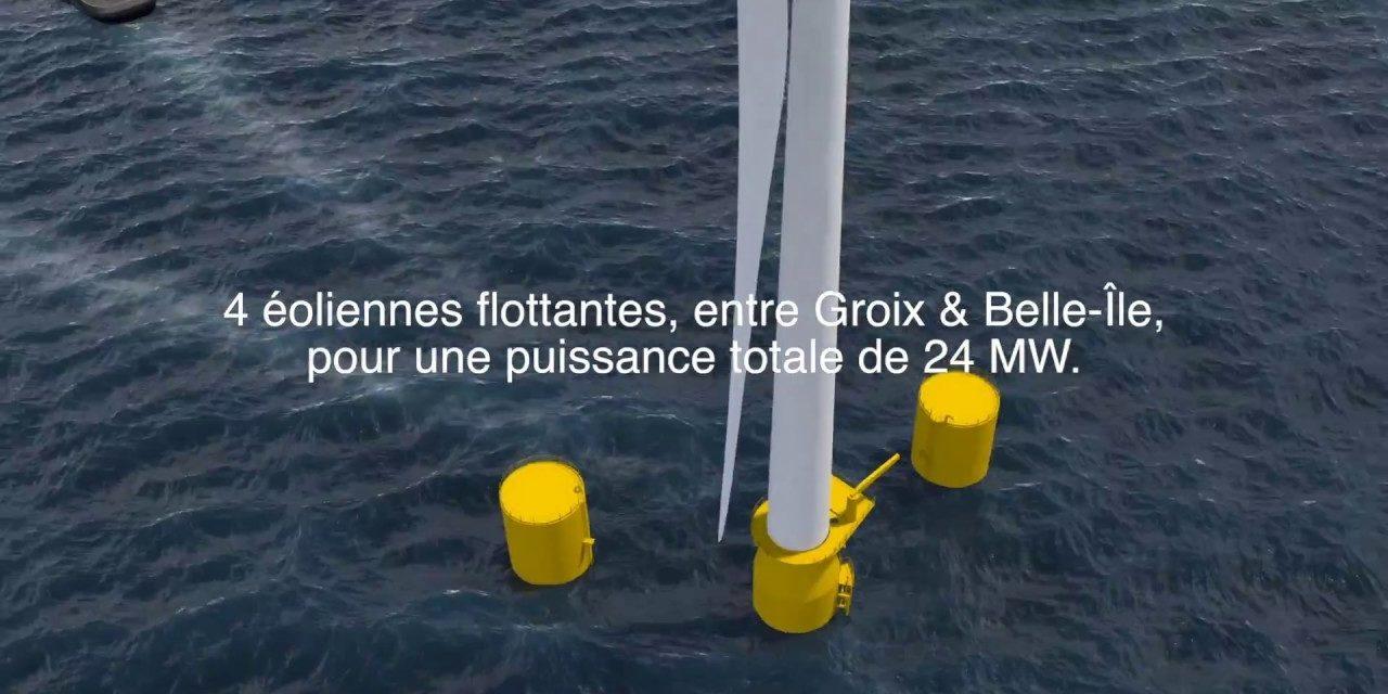 Naval Energies mise sur l'éolien flottant en Bretagne et dans l'Atlantique nord