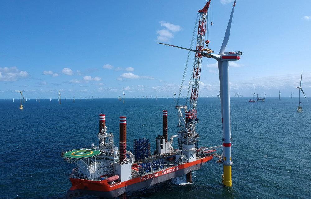MHI Vestas Offshore : coup double à Borkum Riffgrund 2