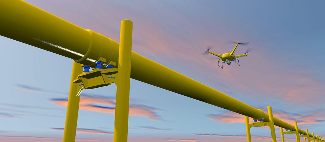 L'inspection des navires par des drones