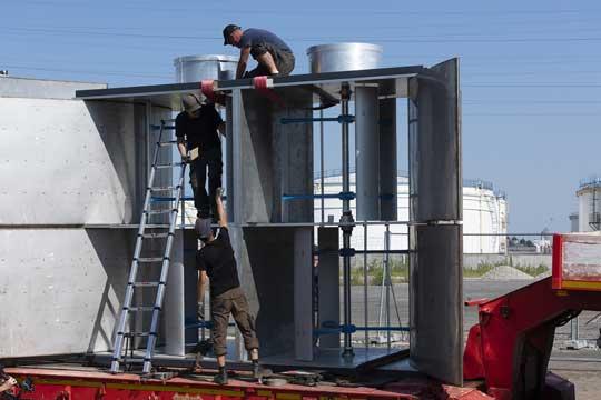 HydroQuest met une 2ème ferme hydrolienne dans le Rhône