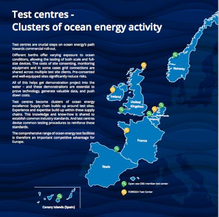 Rapport de FORESEA sur les centres d'essais en Europe