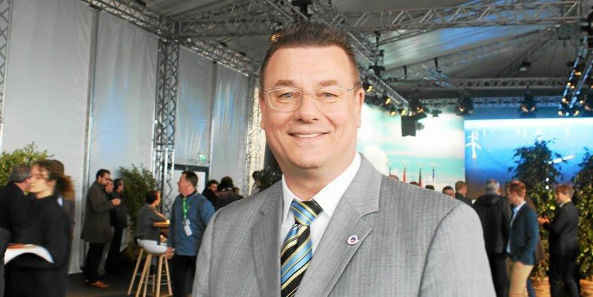 Frank Kracht maire de Sassnitz