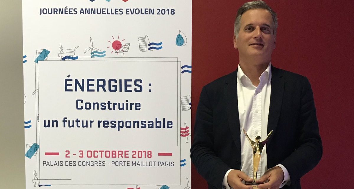 Ecoslops reçoit le prix Innovation d'EVOLEN
