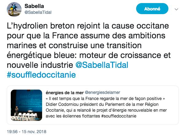 Narbonne Sabella EDM 22 11 2018