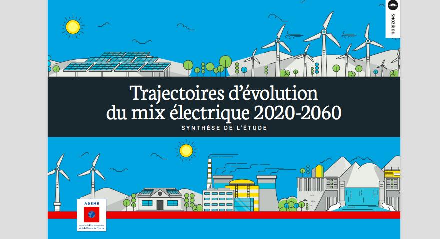 L'ADEME publie une étude « coût » de l'électricité avec une vision à 2050 et 2060