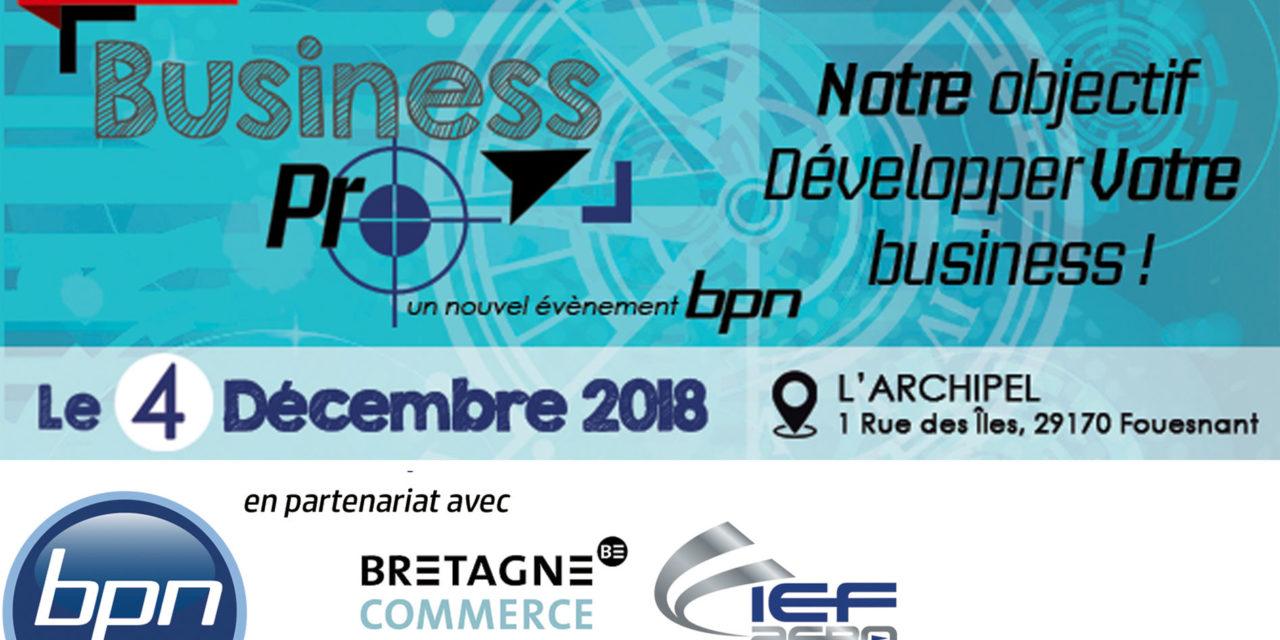 Business Pro, une nouvelle manifestation EMR et O&G en Bretagne
