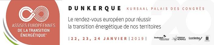 Evénements de janvier : Dunkerque notamment pour le futur parc éolien en mer, Orléans, Tokyo, puis, Paris et Lorient en février
