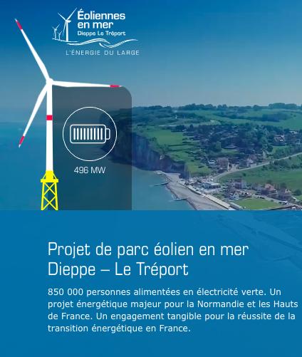 Bonne nouvelle : Feu vert des préfectures de Seine-Maritime et de la Somme pour Dieppe-Le Tréport