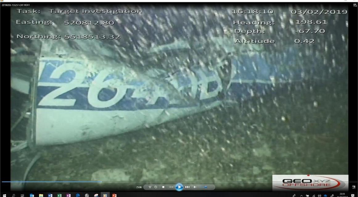 GEOxyz a transmis à l'AAIB le 3/02/2019 la photo de l'avion utilisé par Emiliano Sala