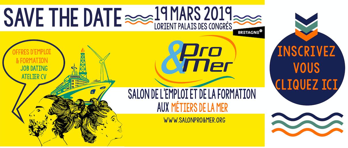 Pro&Mer, l'évènement incontournable des métiers de la mer à besoin de vous