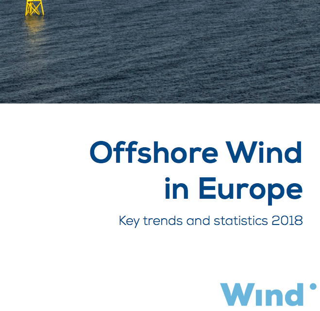 Rapport WindEurope 2018 : Offshore Wind in Europe – chiffres clés et statistiques 2017