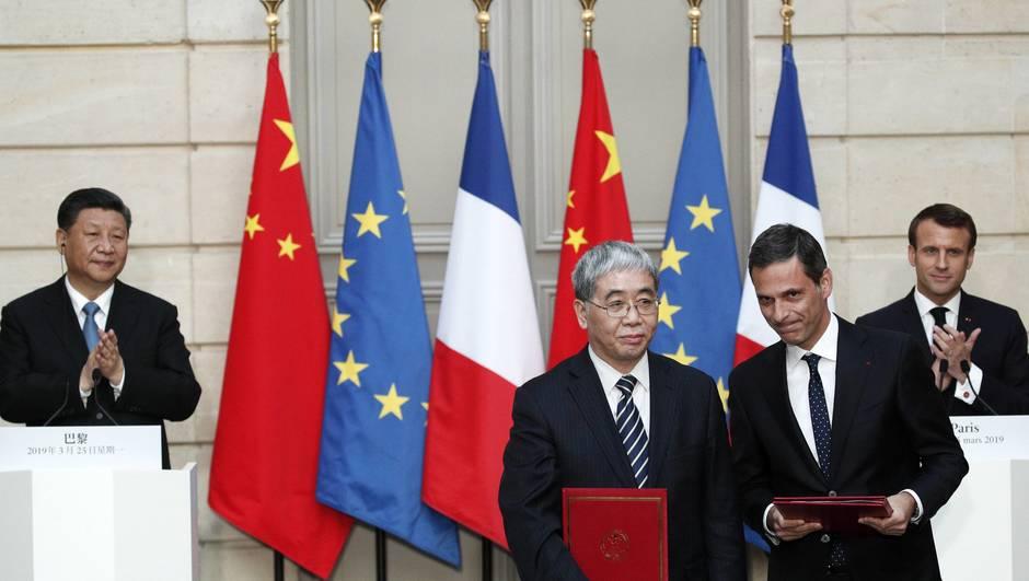 Chine : EDF réalisera deux projets éoliens en mer