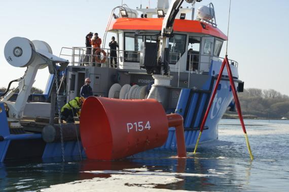 L'hydrolienne P154 – Guinard Energies est en test dans le Ria d'Etel