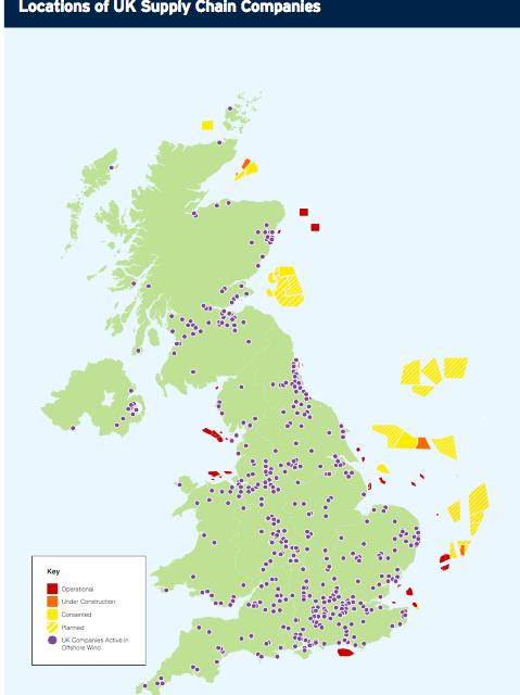 Londres donne de la visibilité à son secteur éolien offshore