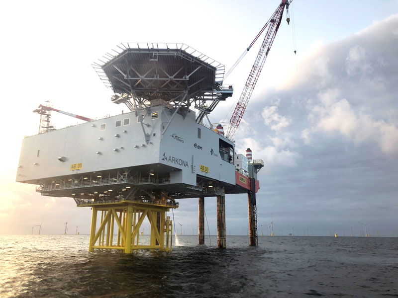Chantiers de l'Atlantique asserts itself as a key player of the European energy transition