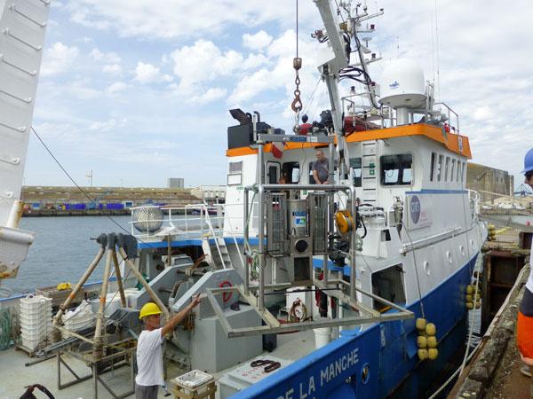 Nouvelle campagne de suivi en mer sur le site de Groix et Belle‐Île