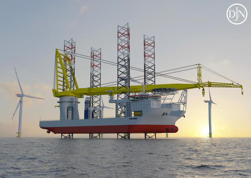 Jan De Nul : Un 3è navire pour l'éolien en mer
