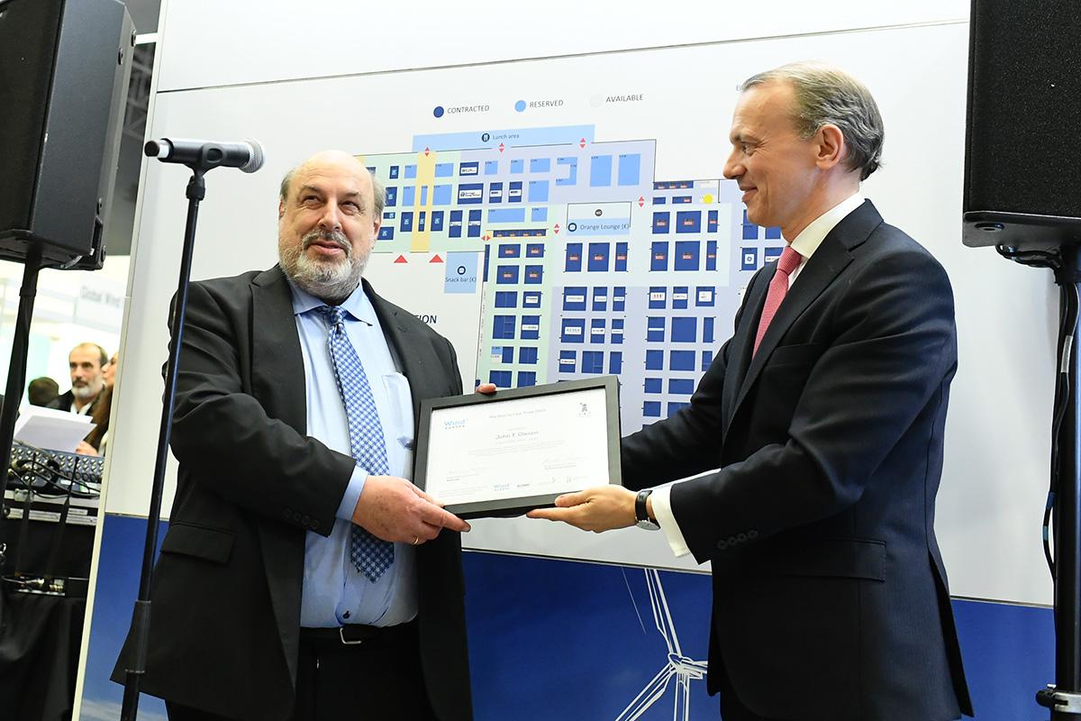 John T. Olesen Poul La Cour prize EDM08 04 019