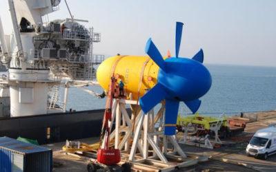 Morbihan Hydro Energies souhaite installer deux hydroliennes Sabella dans le golfe du Morbihan