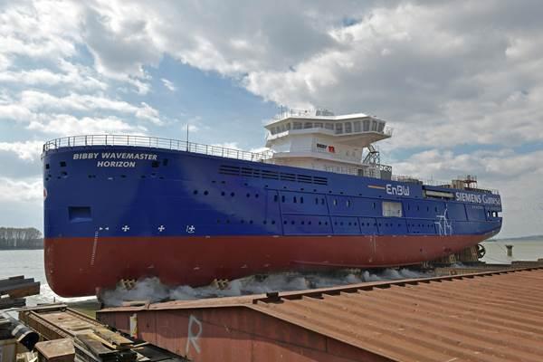 Le SOV de Damen est à l'eau pour Hohe See et Albatros