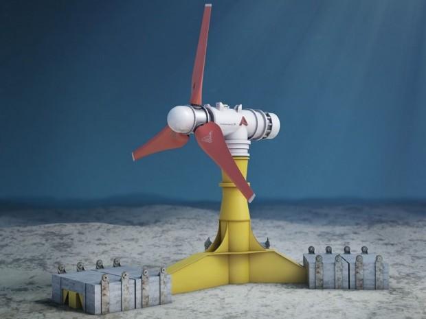 ATLANTIS et GE UK « main dans la main » pour la plus grande hydrolienne du futur marché