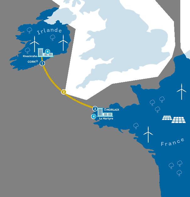 EirGrid et RTE avancent sur le financement de Celtic Interconnector
